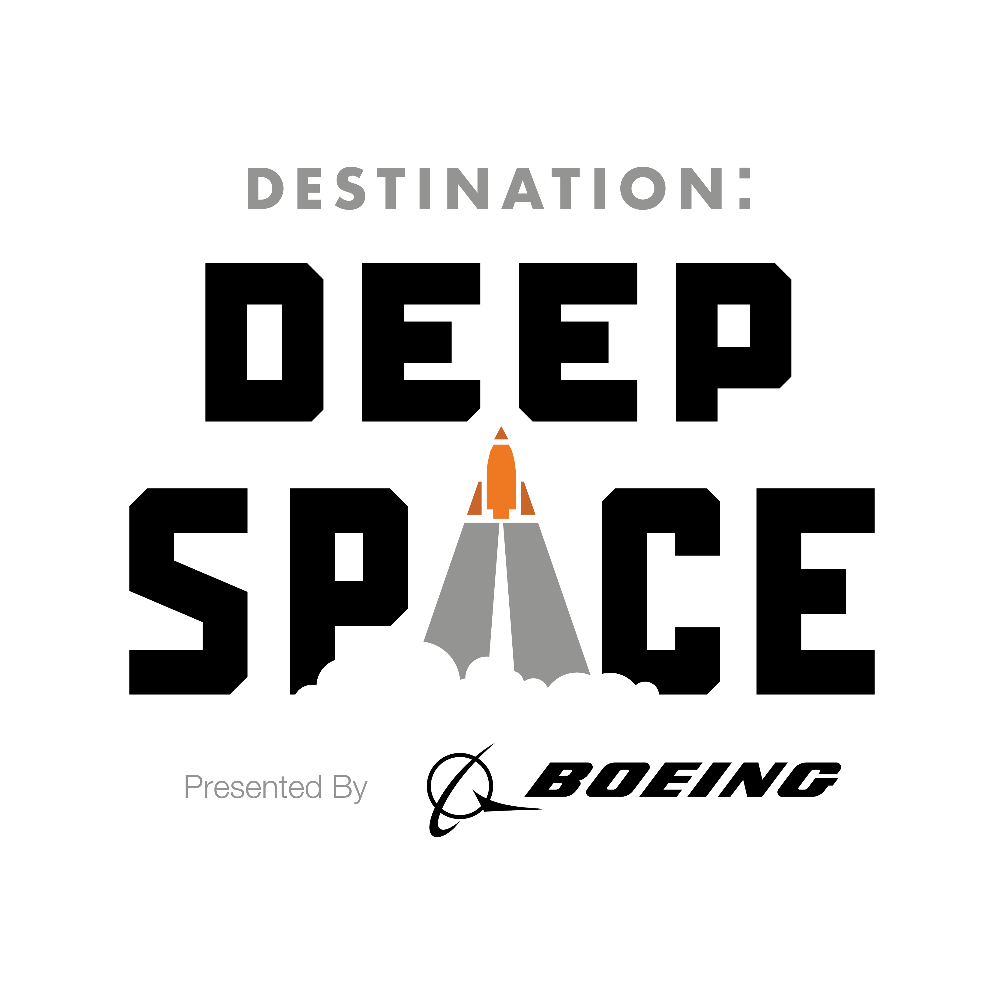 Destination: Deep Space Logo